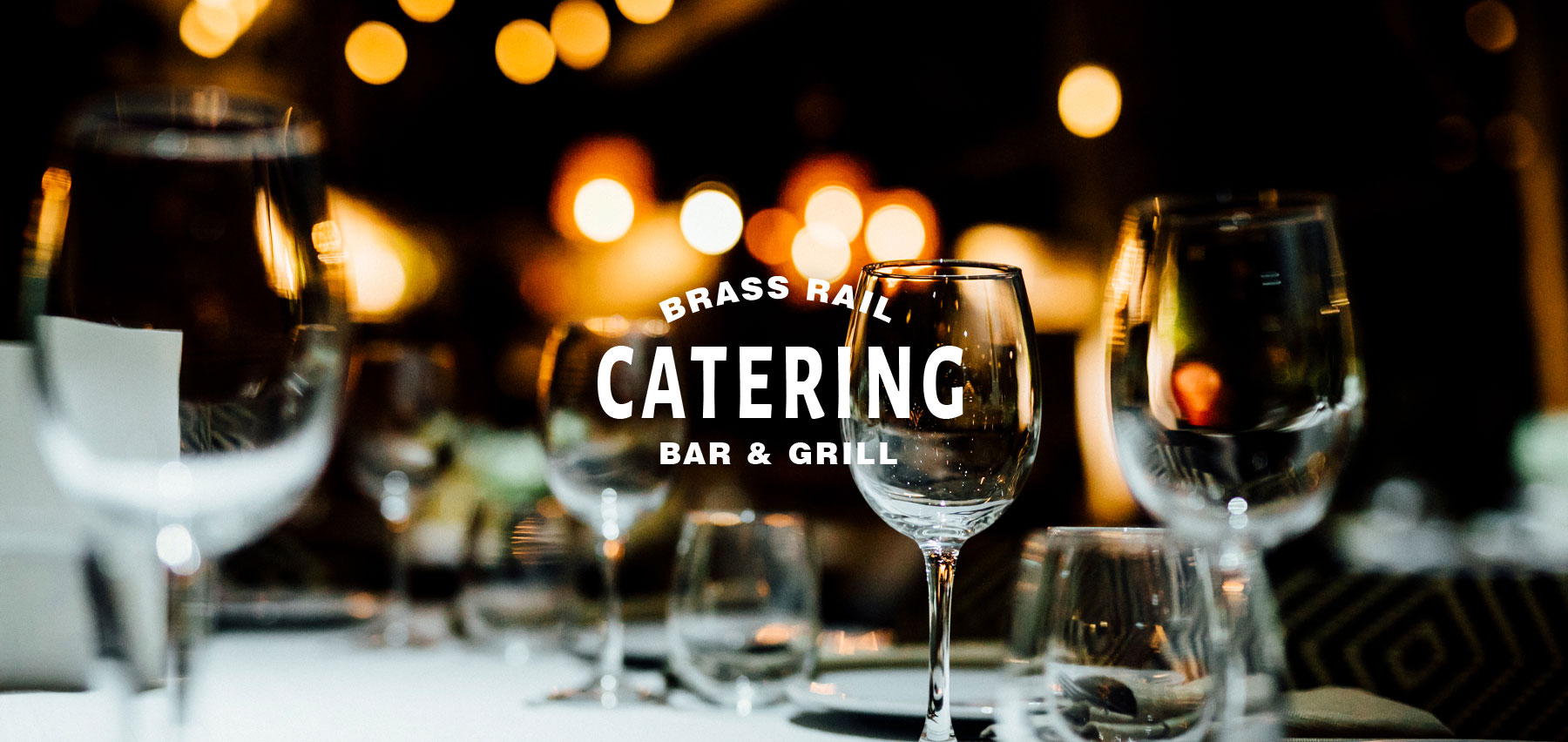 have your next party catered by the Brass Rail Bar & Grill in Matawan